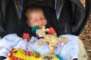 Omaha Nebraska with a Baby Toddling Traveler