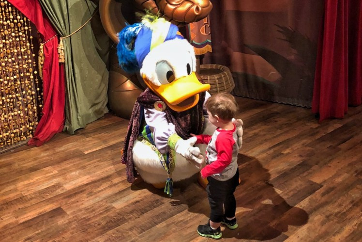 Donald Dock Magic Kingdom with a Toddler Reasons to travel with a baby or young toddler