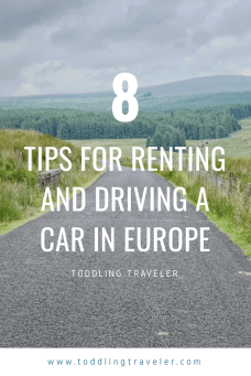 Tips for Renting and Driving a Car in Europe Toddling Traveler