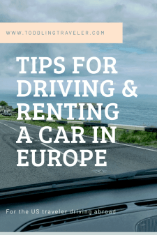 Tips for Driving and Renting a Car in Europe Toddling Traveler