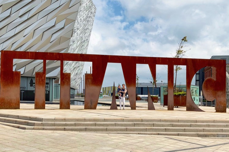 24 Hours in Belfast Titanic Belfast Toddling Traveler
