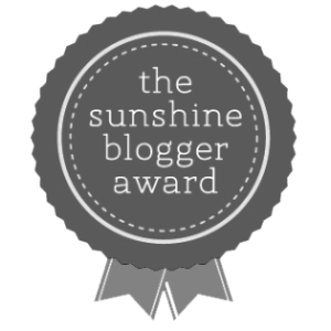 Sunshine Blogger Award Nomination Image Toddling Traveler