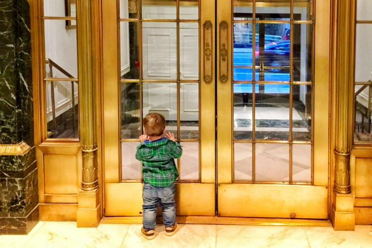 Intercontinental New York Barclay with Kids Toddling Traveler