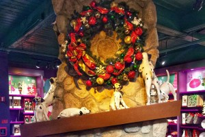 Disney Springs Christmas Store Orlando at Christmas Toddling Traveler