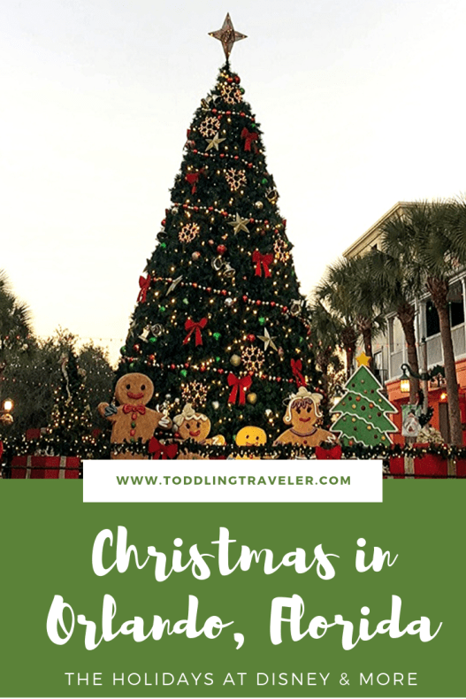 Christmas lights Orlando for Christmas Celebration Florida Toddling Traveler
