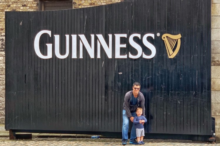 Guinness Storehouse Experience 48 Hours in Dublin with Kids Toddling Traveler