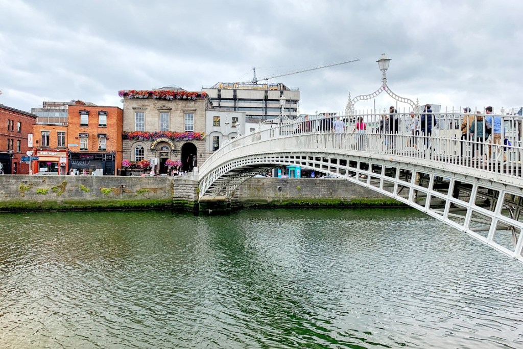 Ha'Penny Bridge 48 Hours in Dublin Toddling Traveler