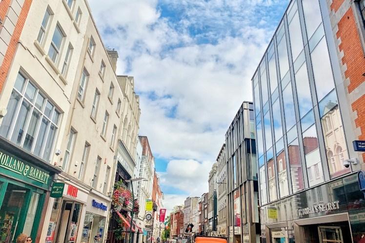 Grafton Street Shopping Weekend in Dublin Toddling Traveler