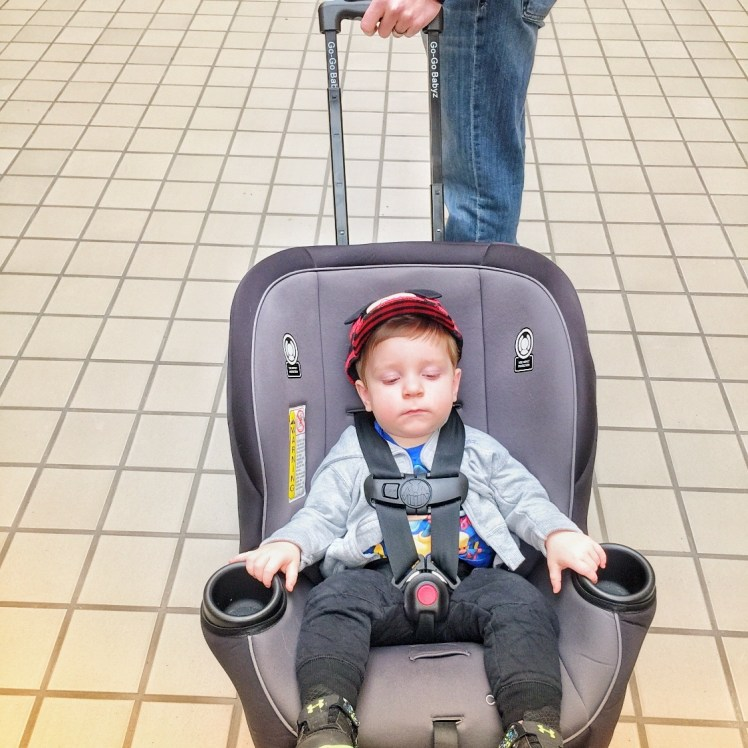 Best Products for Flying with a Baby GoGo Babyz Travel Mate Toddling Traveler