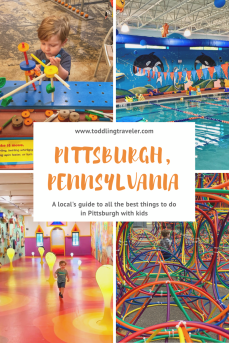 Pittsburgh with a Toddler Toddling Traveler