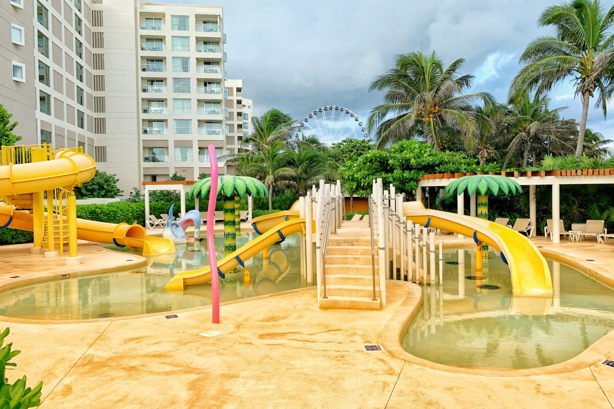 Park Royal Resort in Cancun with Waterslides Kid-Friendly All Inclusive in Mexico Toddling Traveler