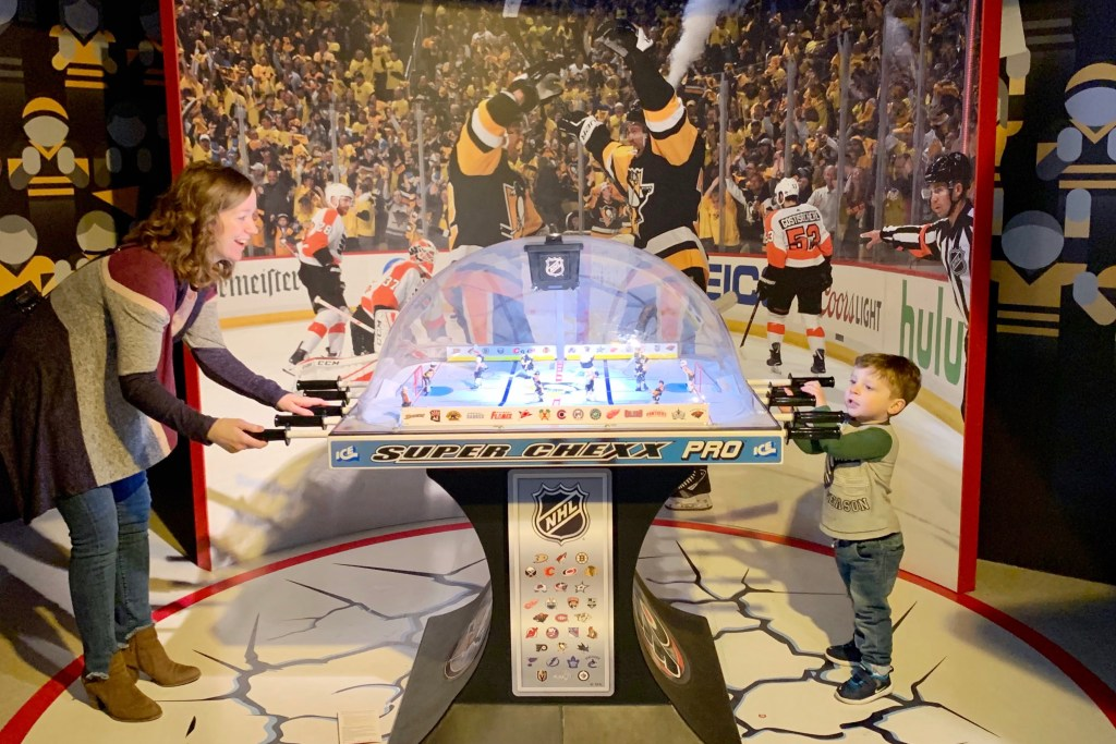 Western Pennsylvania Sports Museum Heinz History Center with Kids Toddling Traveler