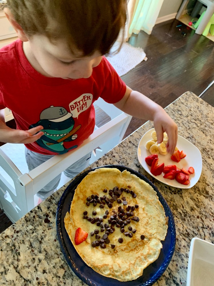 Easy Crepe Recipe France Travel From Home Activities Toddling Traveler
