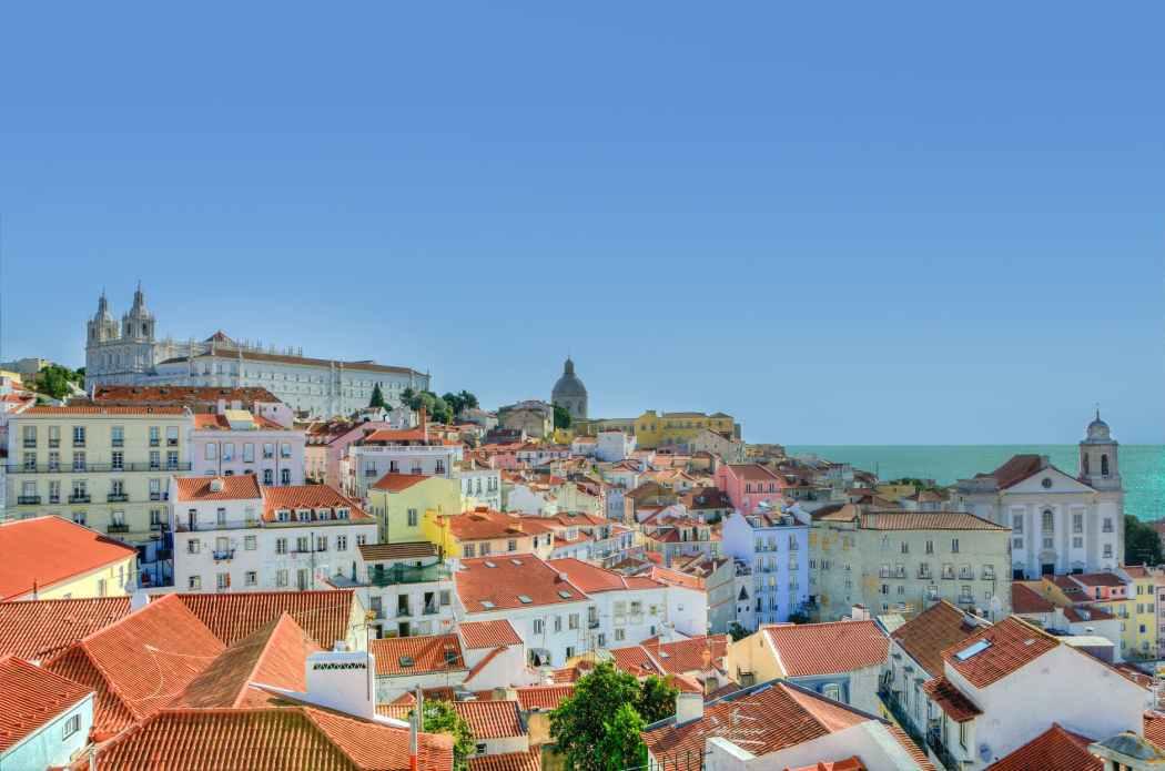 city lisbon houses portugal travel from home Toddling Traveler