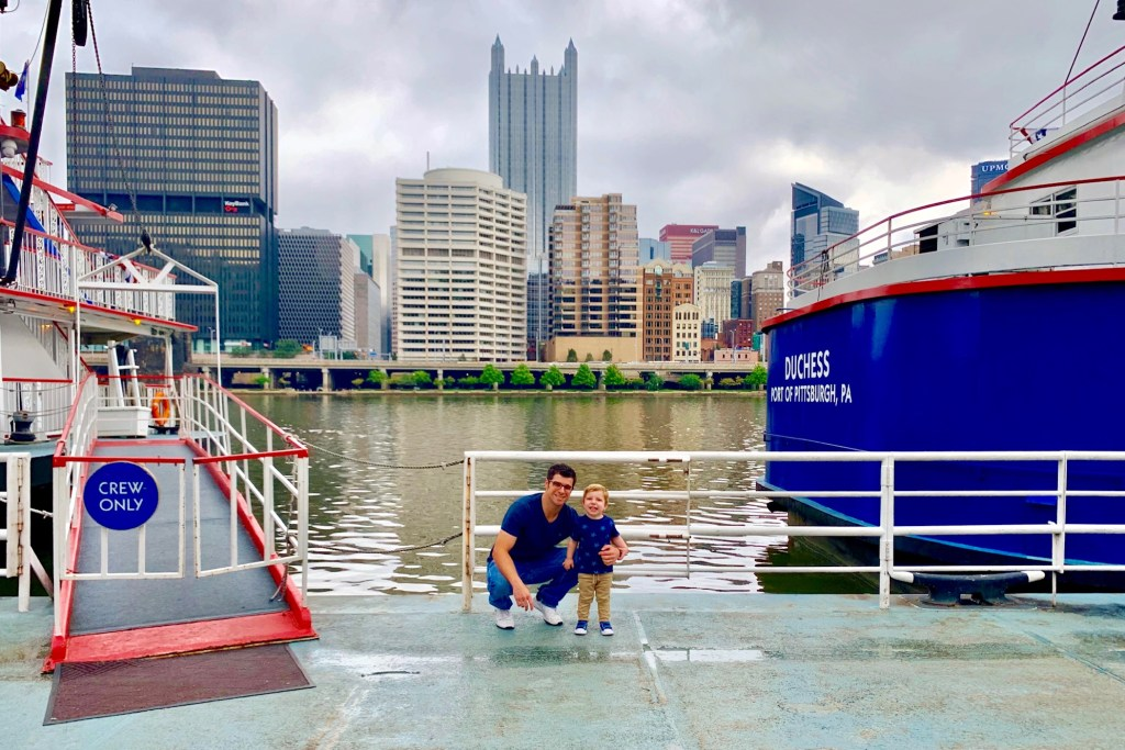 Things to Do with Kids in Pittsburgh Gateway Clipper Toddling Traveler