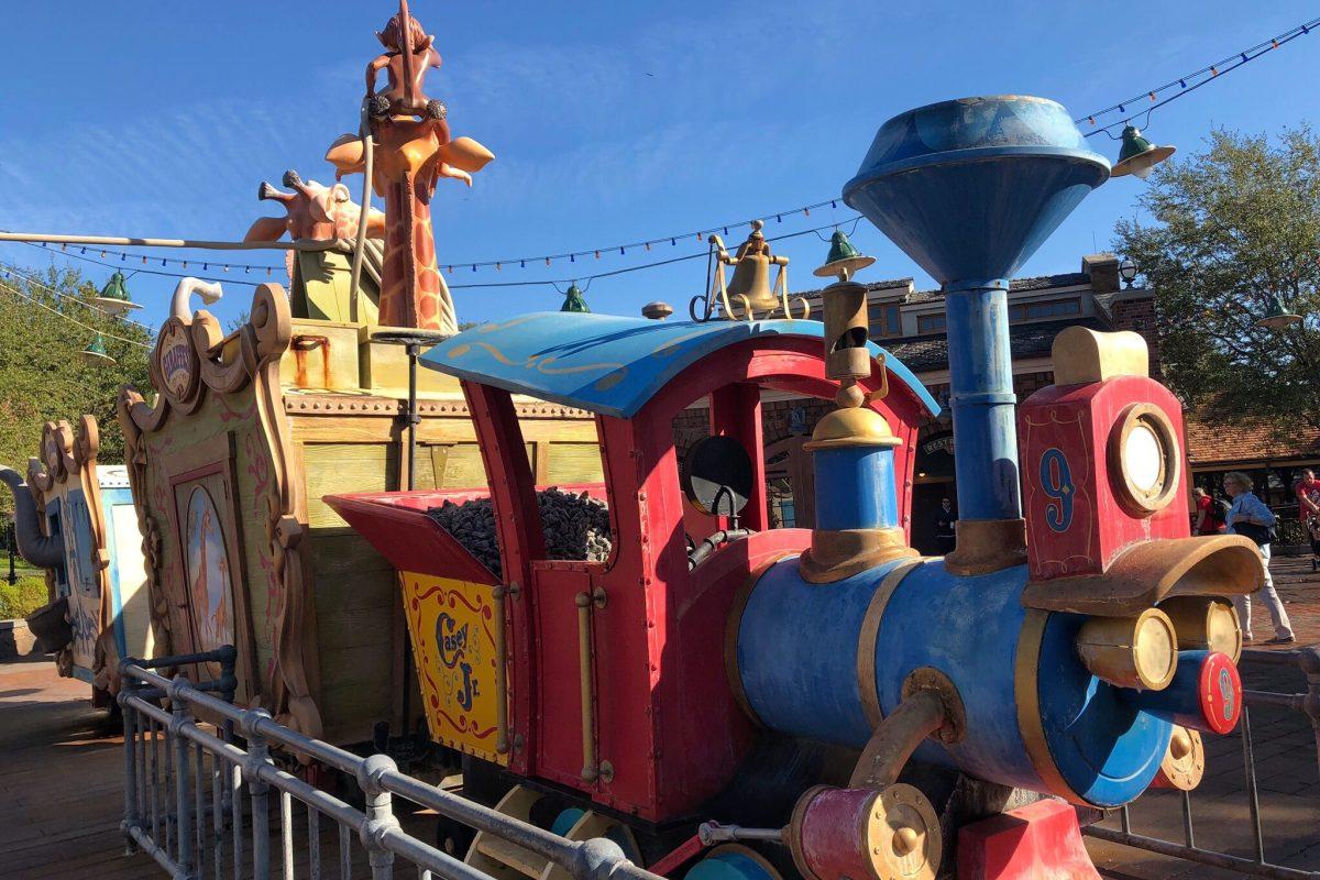 Disney with a Toddler Casey's Wet Zone Magic Kingdom