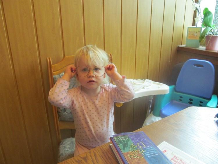 Like Mommy (Ariela, age 2)