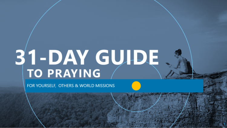 31 or 7 day guide for praying header