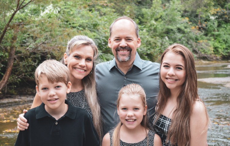 Todd, Pam, Kirsten, Daniel, and Ariela