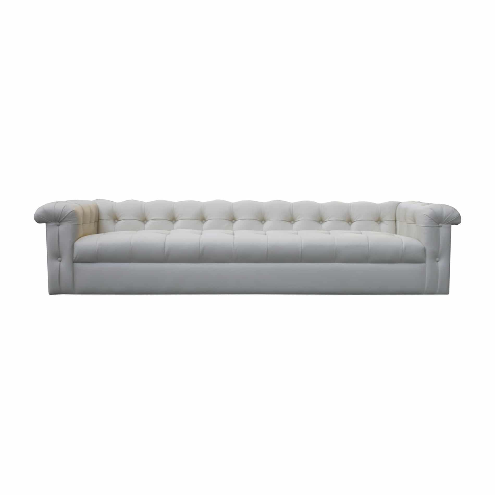 12 foot sofa lazy boy sleeper sale edward wormley for dunbar eight tufted leather