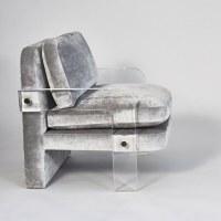 Vladimir Kagan, Pair of Lucite Lounge Chairs, USA, c. 1970 ...