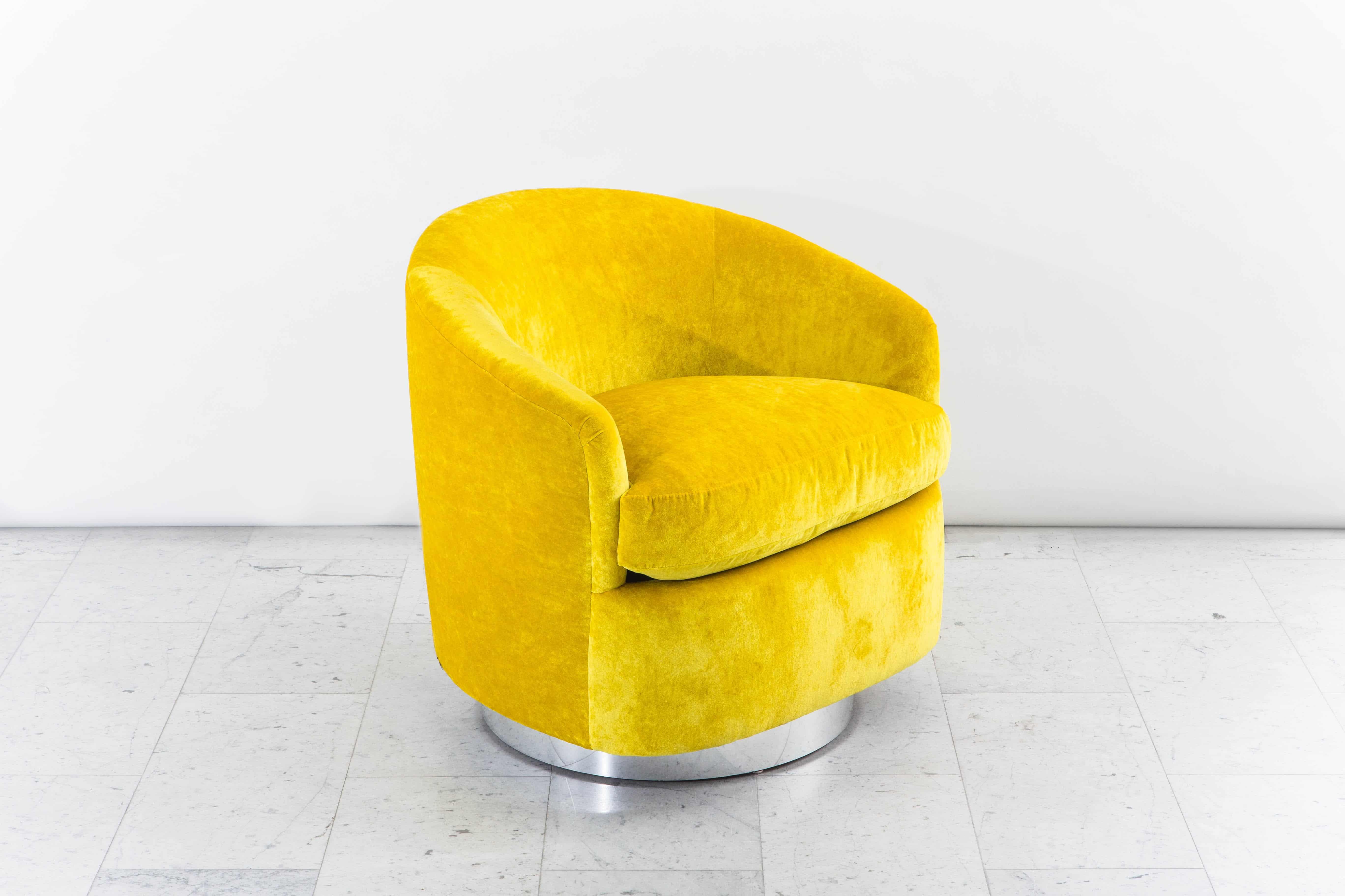 swivel chair mustard yellow ll bean adirondack awesome velvet rtty1