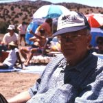 Todd Moore & MW May 29, 1994 Madrid, New Mexico photos by MW & Janet