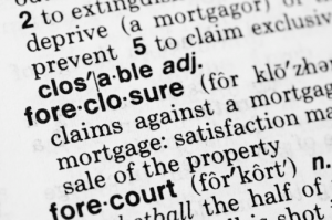 foreclosure terms and definitions