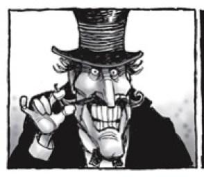 debt collector villain
