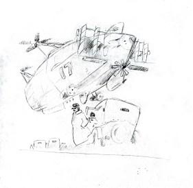 Tw sketch, from reference: Hayao Miyazaki