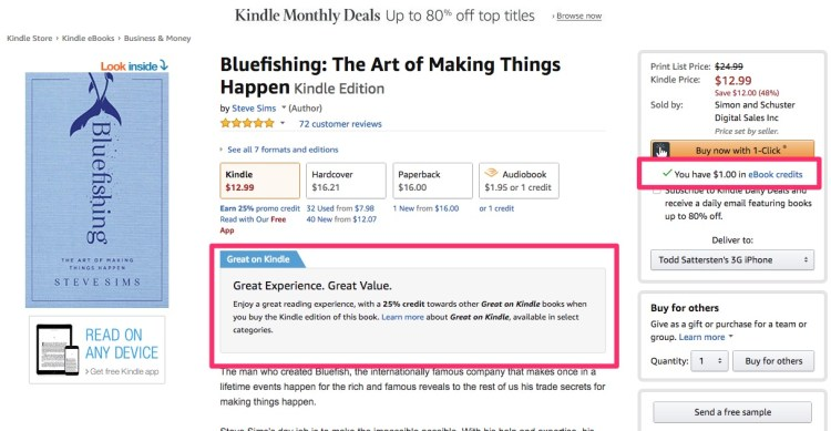Amazon_com__Bluefishing__The_Art_of_Making_Things_Happen_eBook__Steve_Sims__Kindle_Store