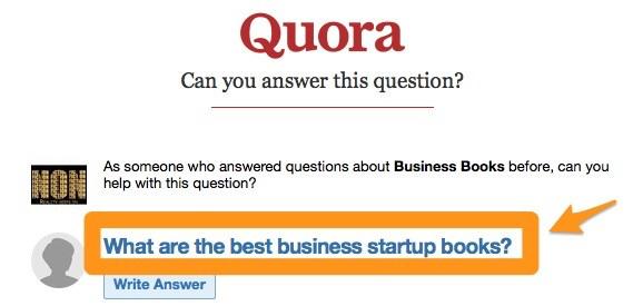 quora question
