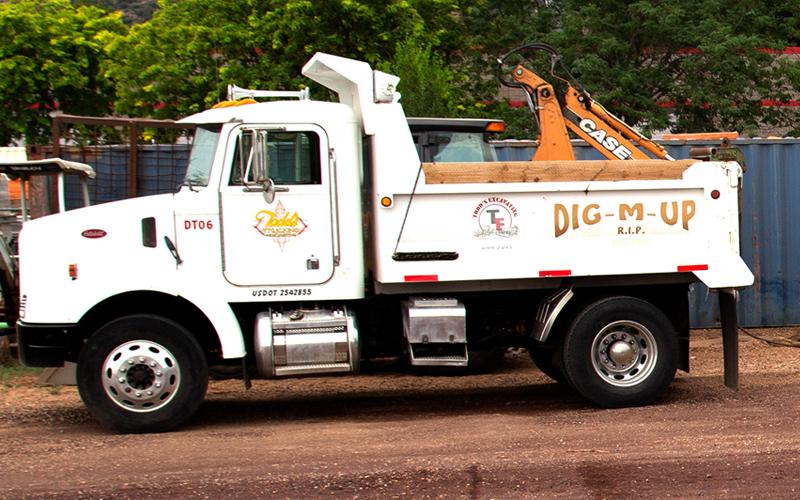 Todd's Excavating Bobtail Dump Truck