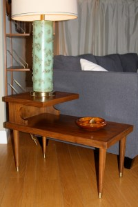 Two Tier MidCentury End Tables