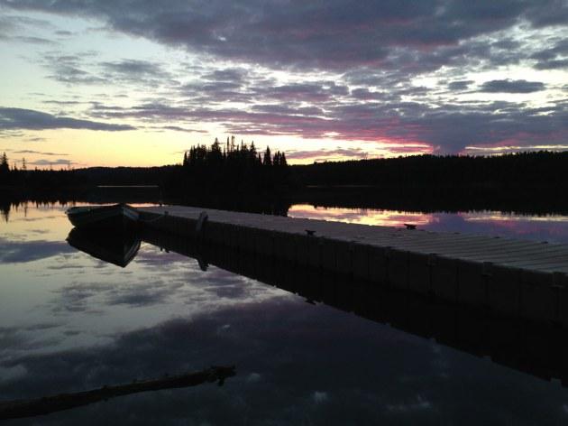 Tobin Harbor Sunset
