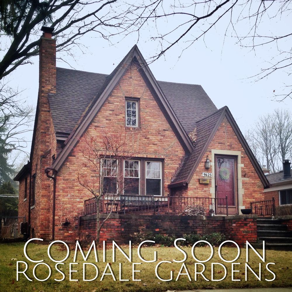 Old Rosedale Gardens Tudor