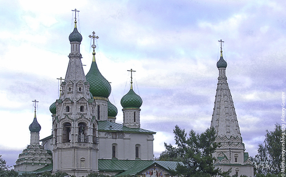 The Church of Ilia the Prophet Yaroslavl