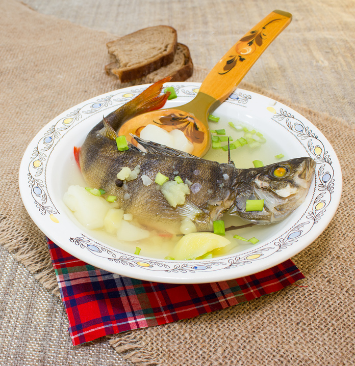 Ukha – a Traditional Russian Fish Soup