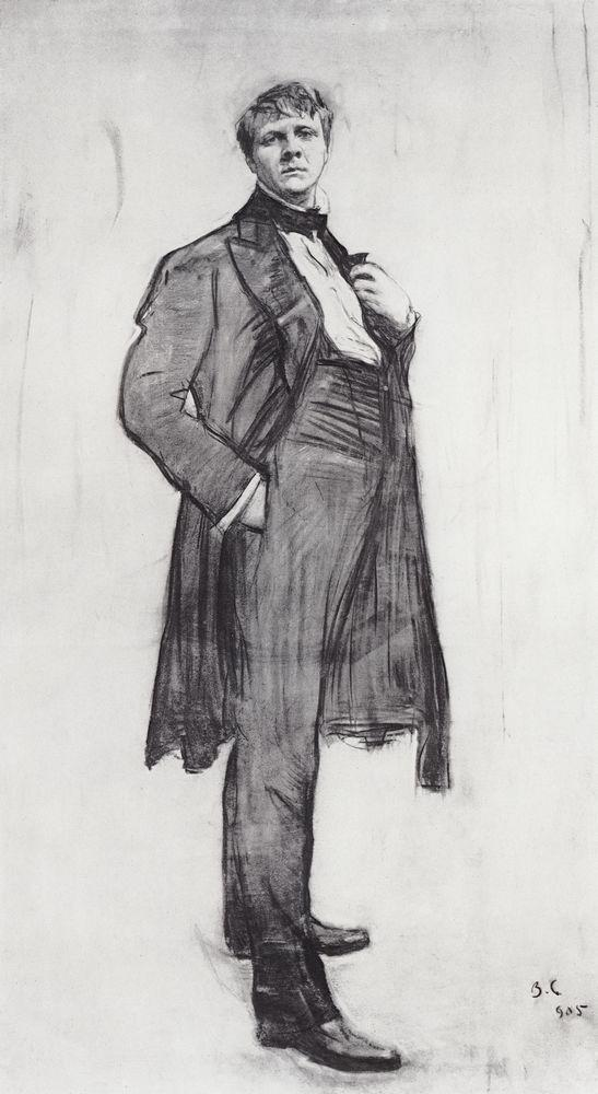 Valentin Serov Portrait Of The Artist F. Chaliapin