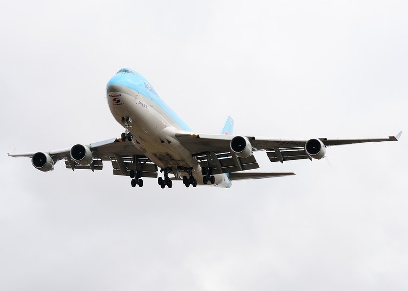 Boeing 747 of the Korean Airlines