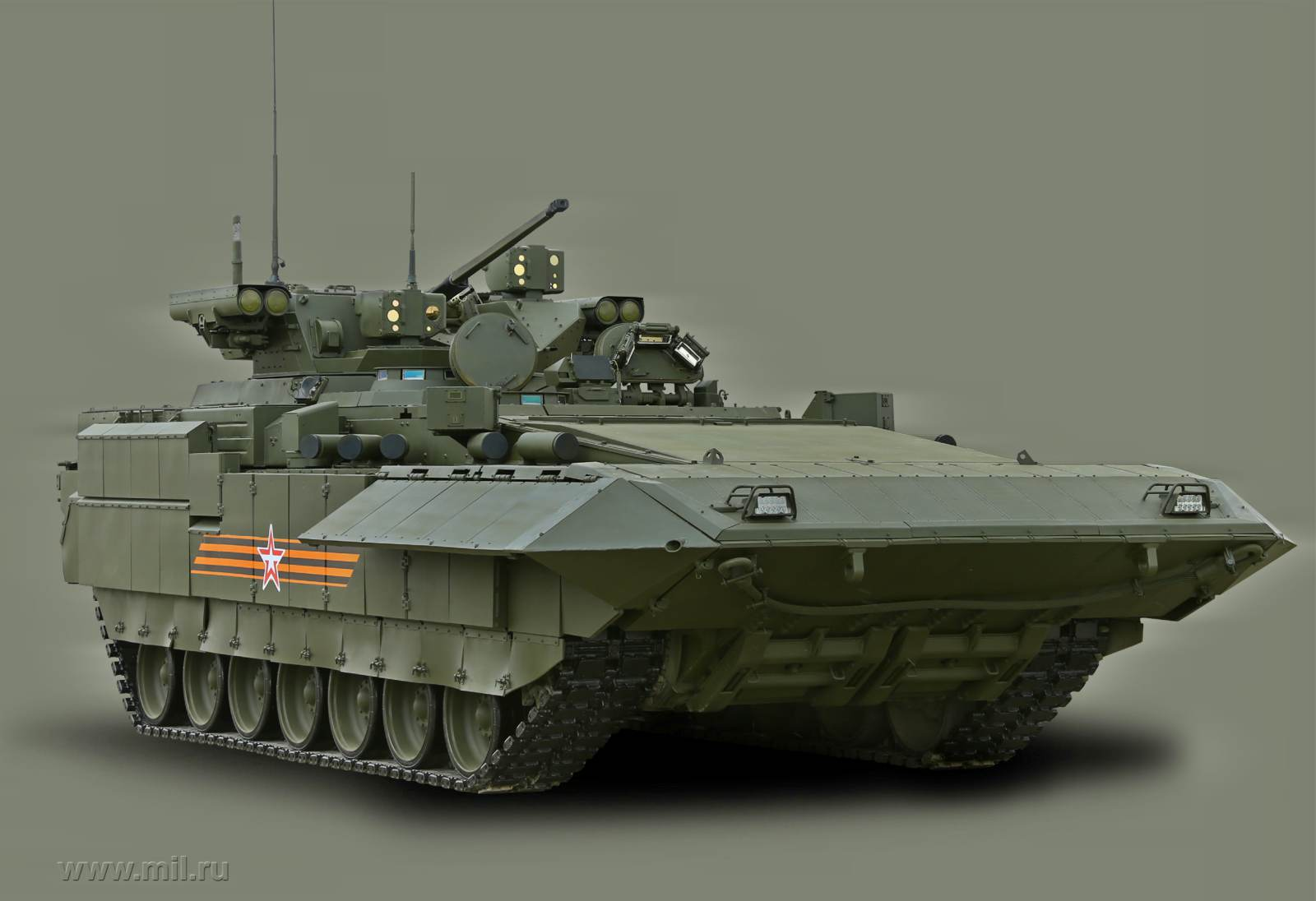 The Armata infantry fighting vehicle