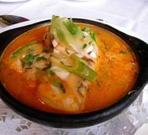 Sopa de Congrio a la chilena Recetas Saludables