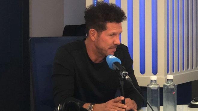 "VÍDEO: Tremendo ""zas"" de Simeone a Courtois en COPE 1"