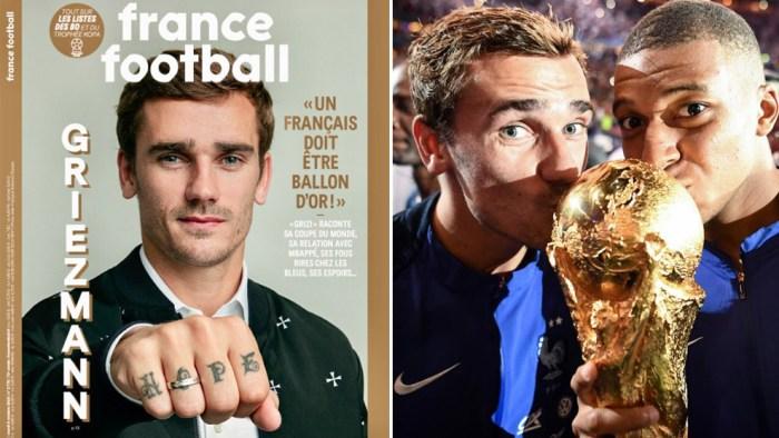 El vídeo oficial de France Football de por qué Griezmann debe ser Balón de Oro 1