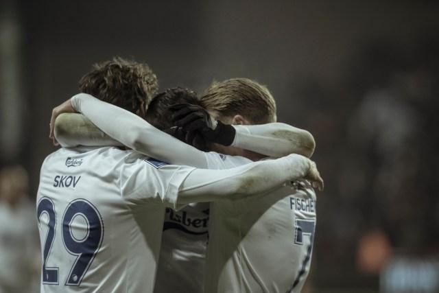 El equipo danés celebrando un gol / F.C. Kobenhavn