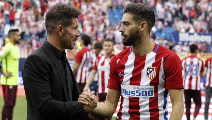VIDEO: Simeone reconoce públicamente que el viernes tuvo una larga charla con Carrasco 1