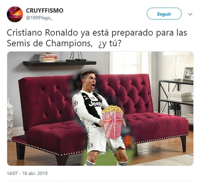 El mundo el fútbol se mofa de Cristiano con estos divertidos memes 10