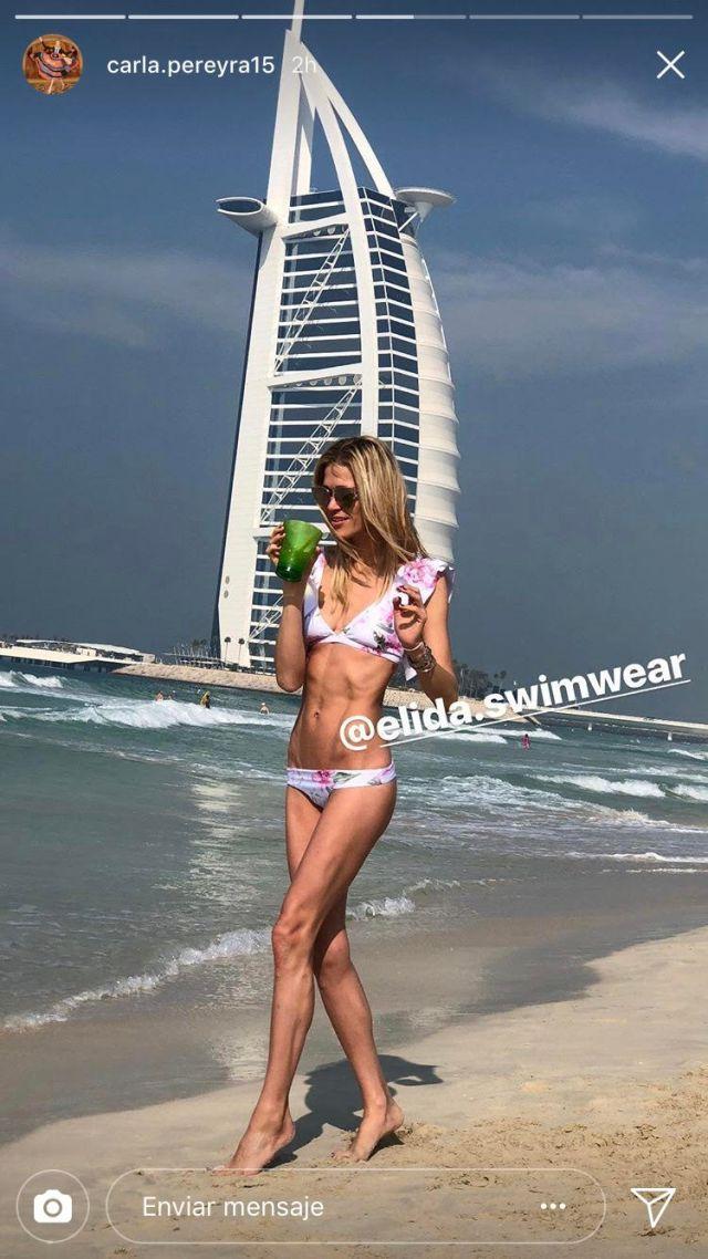 Galeria HOT: La novia de Simeone posa en bikini y acaba revolucionando las playas de Dubai durante estas Navidades