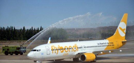 Flybondi sumara Río, Santiago de Chile y Punta del Este a sus rutas.