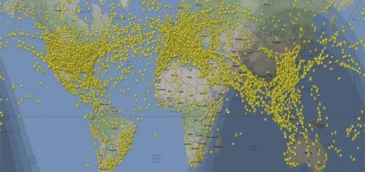 Flight radar vuelos